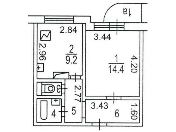 Варианты перепланировок квартир серии п3м.