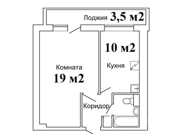 Перепланировка 4 однокомнатной квартиры и-209а, план, фото.