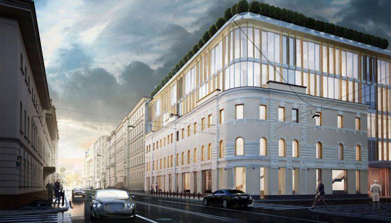 "Golden Mile private residence (Голден Майл приват резиденсес, ЖК ""Остоженка"") | Центральный АО"