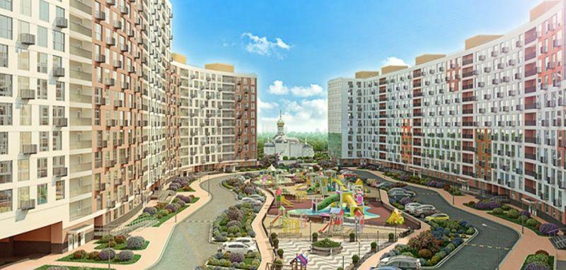 ЖК Лидер Парк  новостройки в Мытищах от строительной